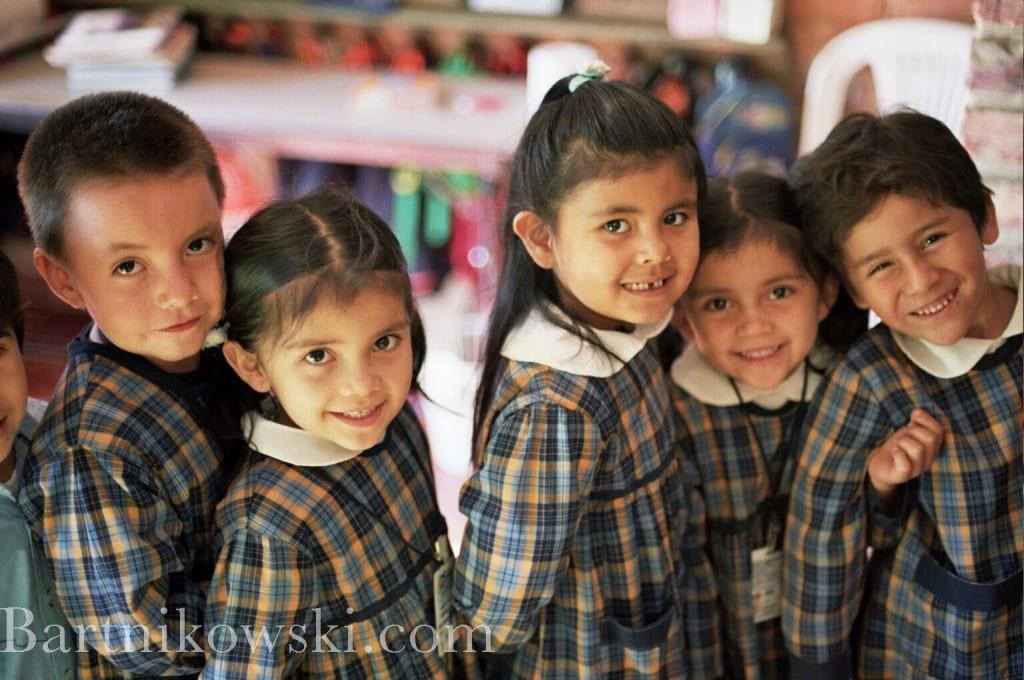 Villa de Leyva, Colombia kids at preschool after my Salsa Dancing for Babies class