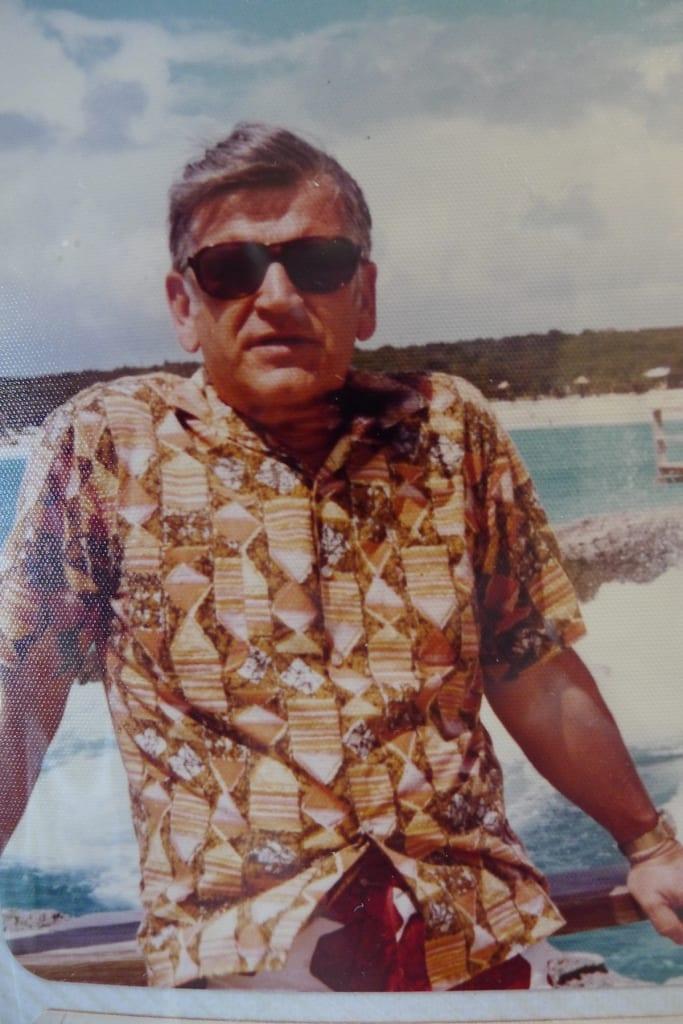 My Dad in Oahu 1959