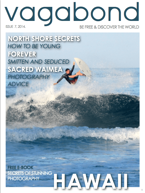 Vagabond, Hawaii Issue
