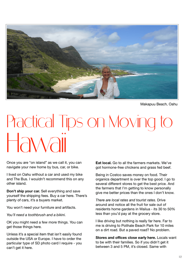 Practical Tips on Moving to Hawaii