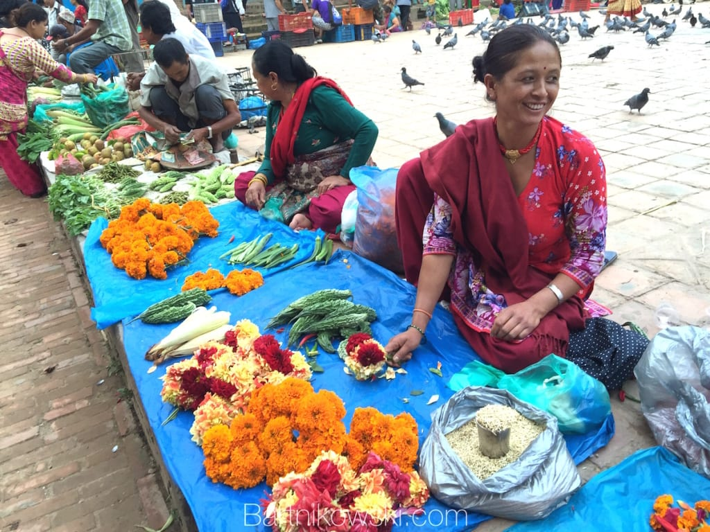 Nepal_bhaktapur_flowers